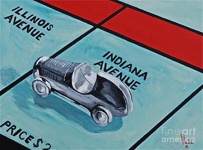 Indiana Avenue Original by Herschel Fall