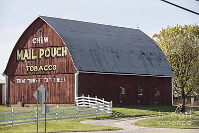 Photograph - Indiana Barn by David Bearden