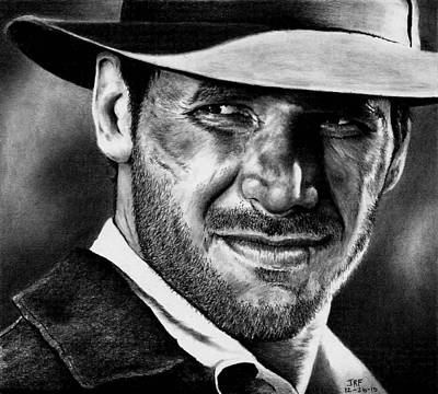 Indiana Jones Print by Rick Fortson