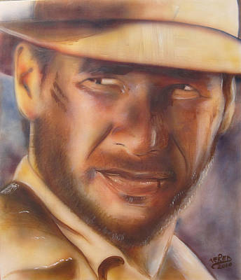 Indiana Jones Art Print by Vered Thalmeier