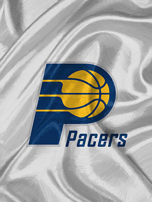 Shoes Digital Art - Indiana Pacers by Afterdarkness