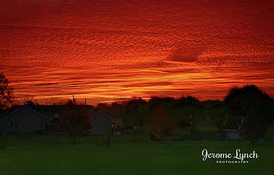 Photograph - Indiana Sunrise by Jerome Lynch