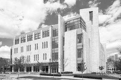 Indiana University East Studio Building Art Print by University Icons