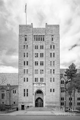 Indiana University Memorial Union Art Print by University Icons