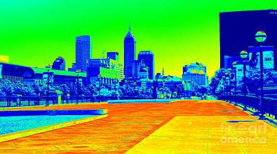 Photograph - Indianapolis Heat Tone by Cj Mainor