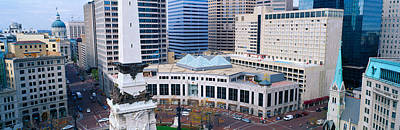 Indiana Photograph - Indianapolis, Indiana by Panoramic Images