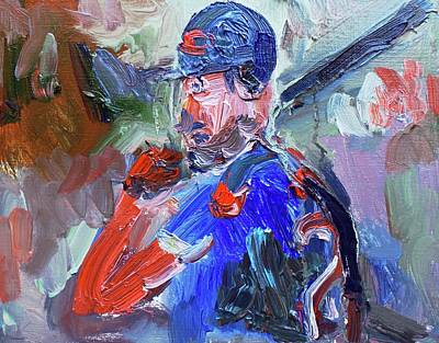 Cleveland Indians Painting - Indians World Series  by John Kilduff
