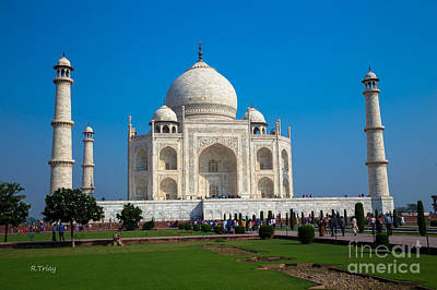 Photograph - India's Taj Mahal by Rene Triay Photography