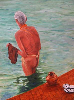 Imagery Painting - Indie by Doris Cohen
