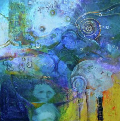 Inner Self Painting - Indigenous Life by Blima Efraim