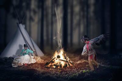 Indigenous Peoples Of The Americas Art Print