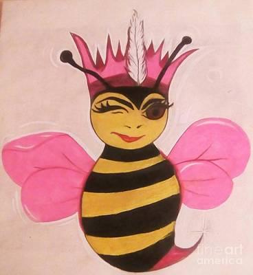 Indigenous Royal Barbee Art Print