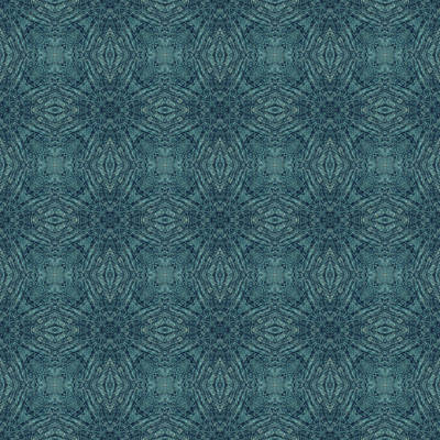 Digital Art - Indigo Diamond Cross Pattern 24in by Kristin Doner