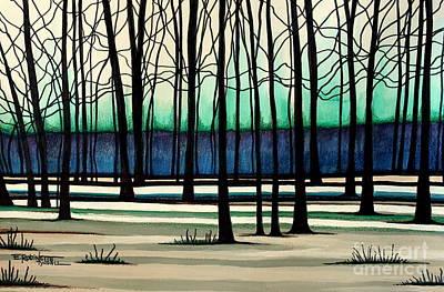 Painting - Indigo  by Elizabeth Robinette Tyndall