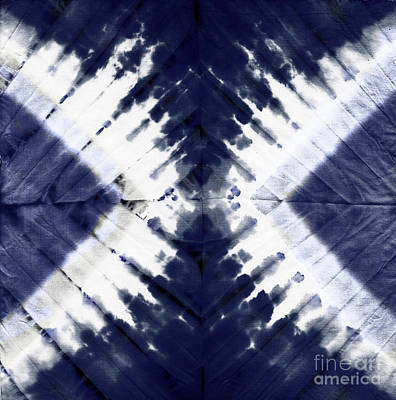Patriotic Painting - Indigo II by Mindy Sommers