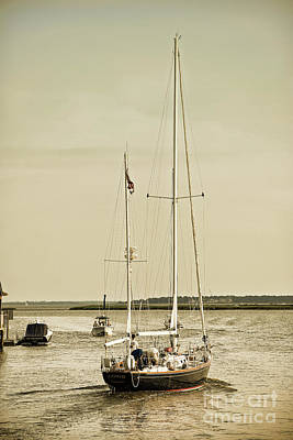 Photograph - Indigo On Shem Creek by Sharon McConnell