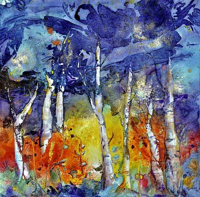 Painting - Indigo Skies by Beverley Harper Tinsley