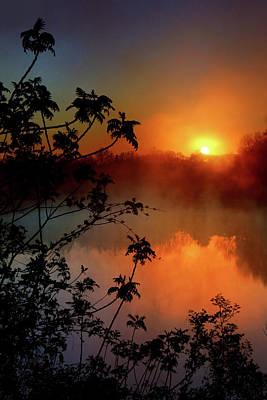 Photograph - Indigo Sunrise by Rob Blair
