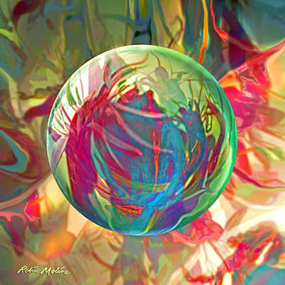 Painting - Indigofera Tinctorbia by Robin Moline