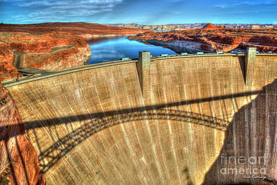 Photograph - Indispensable Glen Canyon Dam Grand Canyon National Park Art by Reid Callaway