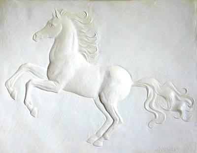 Sculpture - Indomitable Spirit by Deborah Dendler