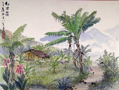 Indonesia Village Art Print by Ying Wong