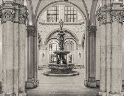 Photograph - Indoor Fountain by Roberto Pagani