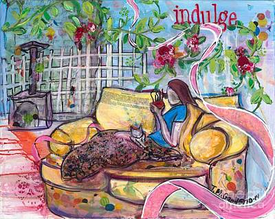 Painting - Indulge by TM Gand