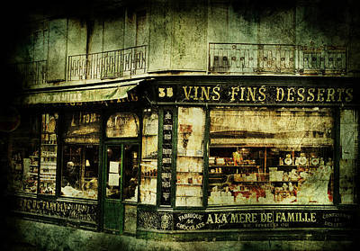 European Street Scene Photograph - Indulgence by Andrew Paranavitana