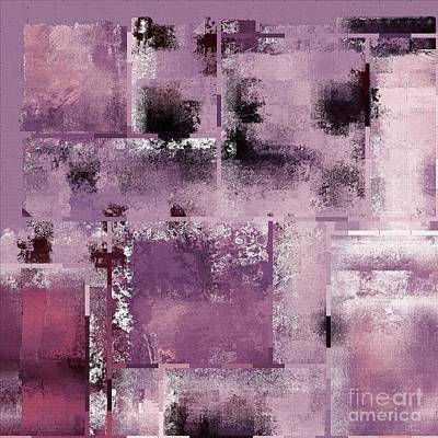 Industrial Abstract - 08t03 Art Print