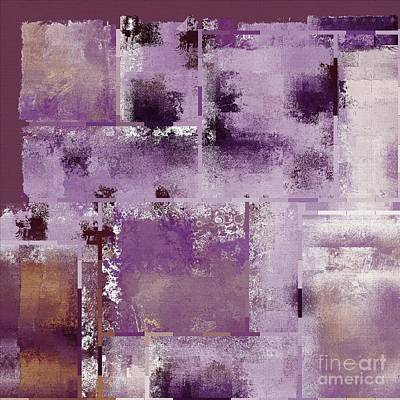 Digital Art - Industrial Abstract - 18t by Variance Collections