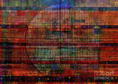 Industrial Abstract 8 Art Print