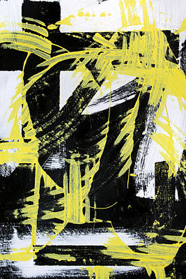 Painting - Industrial Abstract Painting II by Christina Rollo