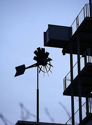 Photograph - Industrial Breeze by Richard Reeve