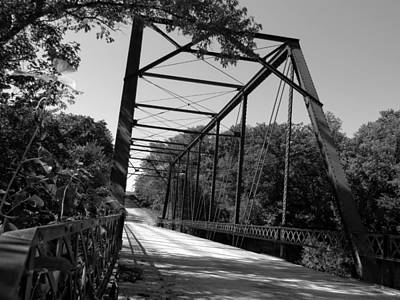 Photograph - Industrial Bridge by Kyle West
