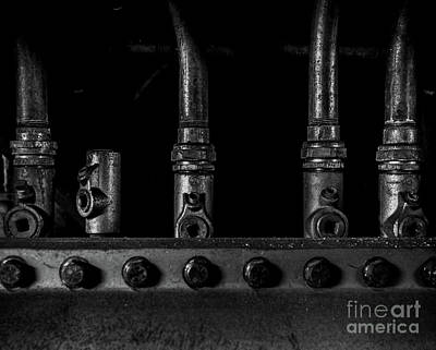 Photograph - Industrial Conduits by James Aiken