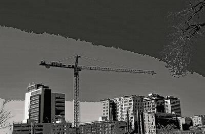 Industrial Crane 1 Art Print