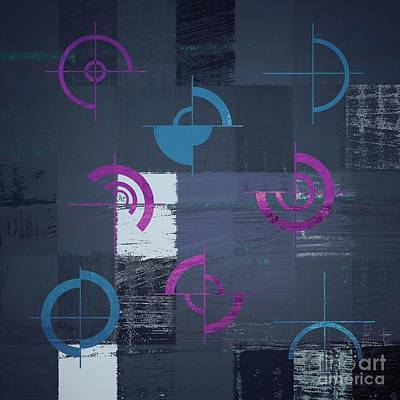 Abstract Digital Digital Art - Industrial Design - S02j088129164c3 by Variance Collections