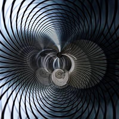 Industrial Dimension 1 Art Print