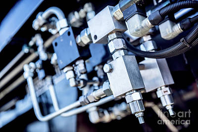 Santas Reindeers Royalty Free Images - Industrial equipment close-up. Railway Royalty-Free Image by Michal Bednarek