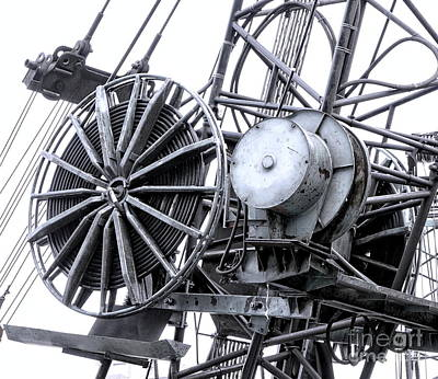 Photograph - Industrial Excavating Equipment by Yali Shi