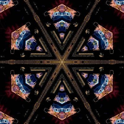 Painting - Industrial Grunge 2 by Lori Kingston