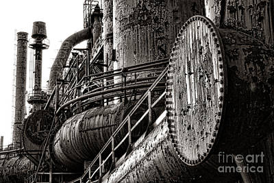 Wrought Iron Wall Art - Photograph - Industrial Heritage by Olivier Le Queinec