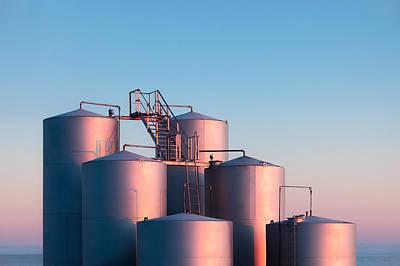 Photograph - Industrial Hue by Todd Klassy
