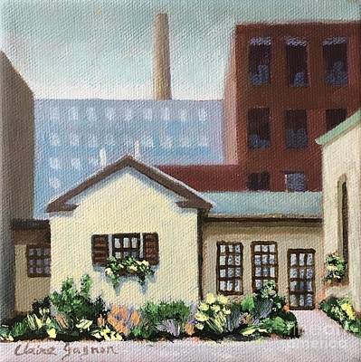 Painting - Industrial Living by Claire Gagnon