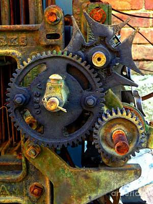 Photograph - Industrial Machinery by Marcia Lee Jones