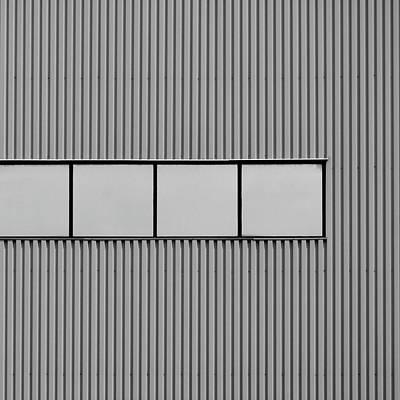 Photograph - Industrial Minimalism 12 by Stuart Allen