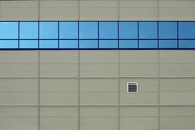 Photograph - Industrial Minimalism 13 by Stuart Allen