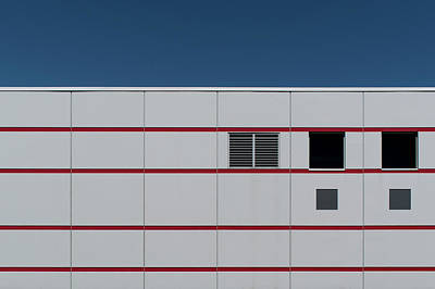 Photograph - Industrial Minimalism 34 by Stuart Allen