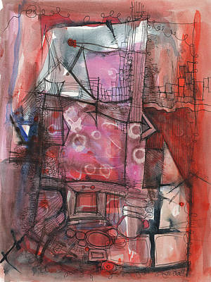 Mixed Media - Industrial Mystery by Sandra Church